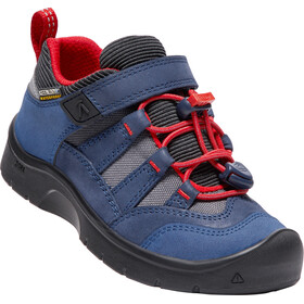 Keen Kids Hikeport WP Shoes Dress Blues/Firey Red